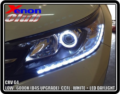 ANGEL EYE LED + DAYLIGHT : CRV G4