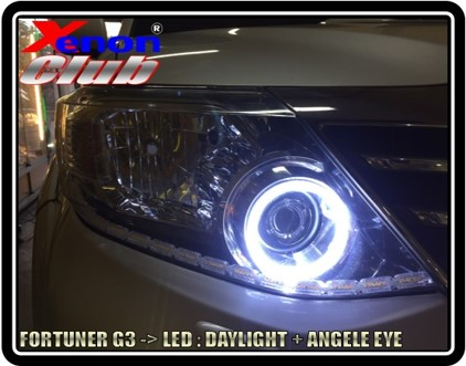 ANGEL EYE LED : TOYOTA FORTUNER G3