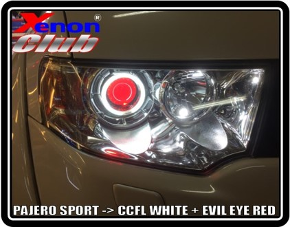 CCFL + RED EVIL EYE : PAJEROSPORT