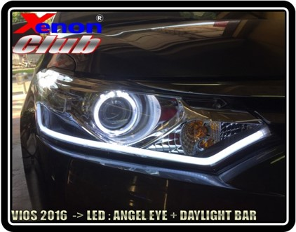 ANGEL EYE LED + DAYLIGHT : VIOS 2013