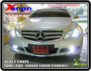 XENON BENZ E COUPE